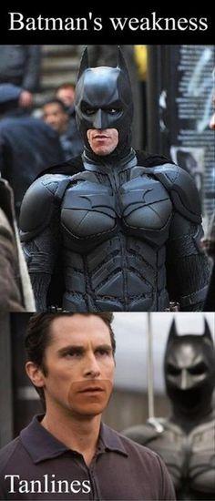 Batman's weakness