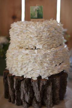 Kinfolk Inspired Wedding Cake