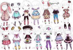 -CLOSED- Cute outfit ADOPTS by Guppie-Adopts on deviantART