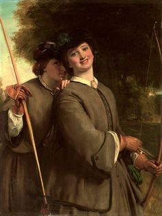 Another outfit and thing to do together :-) @Melissa Niednagel   The archers - William Powell Frith