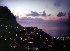 Day becomes night. Capri
