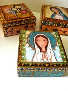 Madonnas  Mother  Daughter  Your Choice  PreOrder   by FlorLarios, $25.00