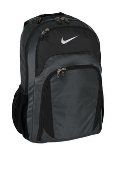 Nike offers a lot of features that will protect your valuables and help you  stay organized. These men s performance backpacks have 2 padded sleeves for  most ... be6a547e802bf