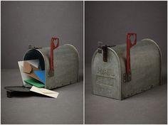 BHLDN vintage wedding mailbox