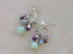 Hey, I found this really awesome Etsy listing at https://www.etsy.com/listing/509083155/amazonite-earrings-wire-wrapped-amethyst