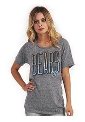 Chicago Bears Womens Touchdown Grey T-Shirt Pittsburgh Steelers Merchandise, Chicago Shirts, Nfl Chicago Bears, Chicago Shopping, Junk Food Clothing, Beer Shirts, T Shirts For Women, Clothes For Women, Grey