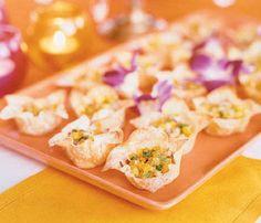 Mango Salsa Wontons Recipe | SELF