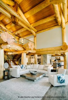 Located in British Columbia, Lake Country Log Homes builds custom handcrafted log homes from Western Red (West Coast Cedar) and Douglas Fir. Log Cabin Floor Plans, House Plans, Cedar Log, Red Cedar, Log Cabin Homes, Cabins, Cedar Posts, Cabin In The Woods, Roofing Systems