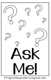"""Assign an """"Ask Me"""" person to assist those who have questions while I am working with others"""