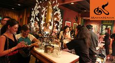 The real time social networking over drinks feels more exotic and rich at MahaNaga Modern Thai Restaurant & Bar