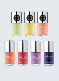 Nails inc nailkale mayfair lane delicate pink - Nail salon marylebone ...