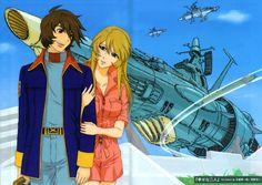 The Producer Speaks, July 2015 Space Character, Character Design, Manga Art, Manga Anime, Star Blazers, Space Battles, Love Machine, Battleship, Anime Style