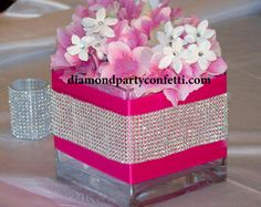 wedding, decorations, diamond, rhinestone, cake, banding, topper, confetti, party, favor, reception, cupcake, stand, crystal, beads, supplies, jewels, ribbon, trim, decor --> http://www.diamondpartyconfetti.com/