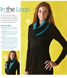 InTheLoop1 257x300 Quick & Easy Infinity Scarf Sewing Tutorial