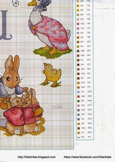 PAPIROLAS COLORIDAS: ABC en px de Beatriz Potter