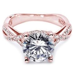 rose gold engagement ring. Want it