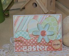 Easter card designed by Debbie Budge using Kiwi Lane Designer Templates