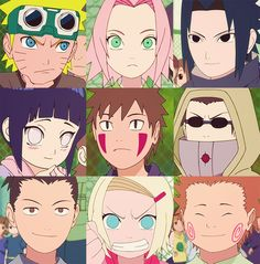 Naruto - Konoha students!