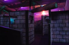Used Laser Tag arena for sale