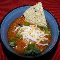 No Fail Autumn Chili, sure to get you in the mood.