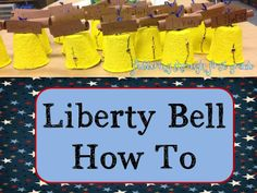 Fluttering Through First Grade: Liberty Bell How To