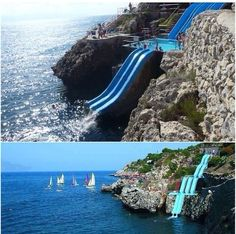Sicily, Italy / most amazing waterslide