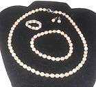 pearl set - necklace bracelet earrings and ring  http://stores.ebay.com/JEWELRY-AND-GIFTS-BY-ALICE-AND-ANN