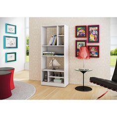 Accentuations by Manhattan Comfort Durable Valenca 8-shelf Bookcase 3.0 | Overstock.com Shopping - The Best Deals on Media/Bookshelves