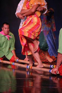 Tinikling Dance. Does anyone else remember doing this in gym class in elementary school?
