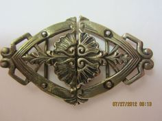 Antique Vintage Sewing Metal Belt Buckle Germany Beautiful Design Detail Old | eBay
