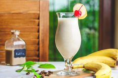 Go Bananas for a Spiked Tropical Shake