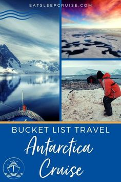 7 Reasons Why Antarctica Should Be on Your Bucket List. The ships sail through the ice and offer plenty of adventure and of course penguins! Packing List For Cruise, Cruise Tips, Cruise Travel, Cruise Vacation, Travel List, Bermuda Vacations, Bahamas Vacation, Cruise Excursions, Cruise Destinations