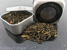 Magical Beltane Tea • Chun Hao grade Jasime and Green tea make this perfect to sip before working your Beltane magick or as a light pick me up. Available for purchase at Sabbat Box. http://www.sabbatbox.com #pagantea #magicktea #hoodooteas