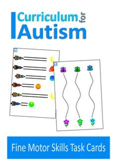 Autism and special needs fine motor activities.This is a set of 15 write and wipe pages for fine motor skills practice. Just laminate and go! Your students can practice their writing skills again and again with a dry wipe marker.You might also like:Vehicle Theme Fine Motor Skills Task CardsMatch Colors and ShapesSequences Write and WipeAs some people with autism can be overloaded by too much visual input, my resources have been designed with clear layouts and plain backgrounds.