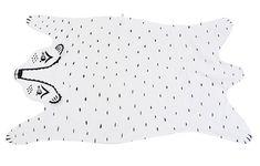Heirloom Bear Blanket by romawinkel on Etsy