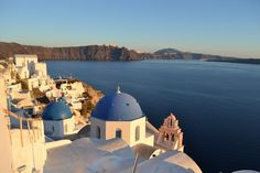 When considering how to visit Santorini, you'll want to explore the island. From Oia's sunset to the ruins of Akrotiri and the food for which Greece is famous, Santorini gives travelers plenty to explore. Visit Greece, Santorini Island, Travelling, Europe, Explore, Sunset, Building, Amazing, Food