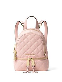 MICHAEL MICHAEL KORS - Quilted Leather Backpack