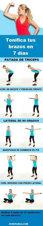 Tonifica tus brazos en 7 días: