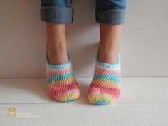 WOMAN SLIPPER SOCKS /Crochet Slippers. Knitted от Exclusive72