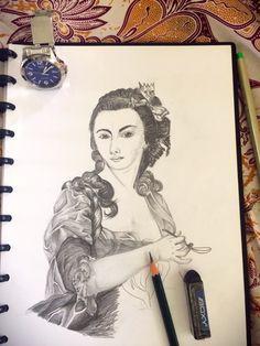 Unfinished lady
