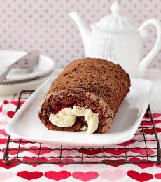 Cadbury Timeless Chocolate Sponge Roll Recipe