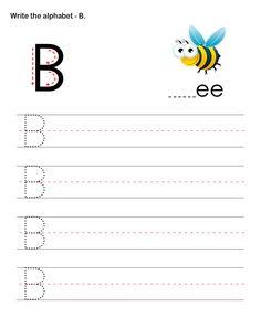 Capital Letters B - esl-efl Worksheets - preschool Worksheets