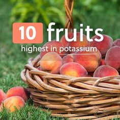 These fruits high in potassium will help you reach your potassium goal for the day, as they're all high potassium fruits that offer additional benefits as well. Fruit is the perfect choice for meeting your potassium needs, because in most cases you'll also be getting the benefits of...