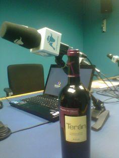 Los vinos de Marqués de Terán se cataron en el programa 'A la Mesa', de Radio Intereconomía