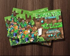 http://thepodomoro.com/collections/birthday-invitation/products/minecraft-world-birthday-invitation