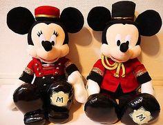 New TOKYO DISNEY SEA HOTEL MIRACOSTA outfit Mickey & Minnie Set Plush Toys JAPAN
