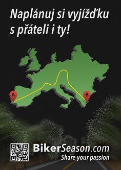 Poster, Bike, Motorbike, Social