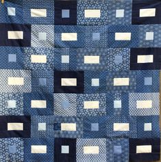 Indigo Quilt: Part Two — Sleeping Dog Quilts Blue Quilts, White Quilts, Denim Quilts, African Quilts, Indigo Prints, Dog Quilts, Jellyroll Quilts, Kona Cotton, Quilting Designs