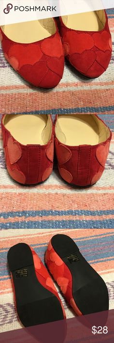 Torrid Heart Parch Flats Wide Width Size 8W Torrid Heart Parch Flats Wise Width Size 8 Shoes are in great condition! Only worn once, but do have just very minimal markings on the hearts. Super cute! Great condition! Perfect for Valentine's Day!!! torrid Shoes Flats & Loafers
