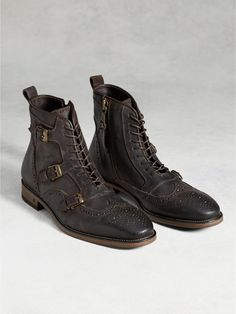 Laced Monk Boot - John Varvatos